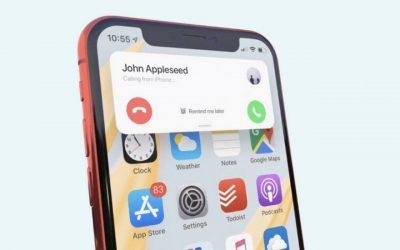 Las primeras IMÁGENES del nuevo iOS 14 que fue presentando en en la WWDC 2020 en California.