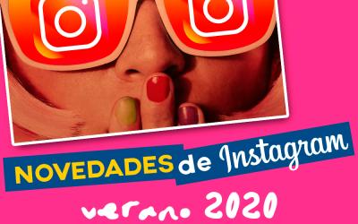 Novedades y trucos en Instagram para el Verano 2020
