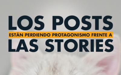 Las historias de Instagram cada vez le ganan más a los posts del feed
